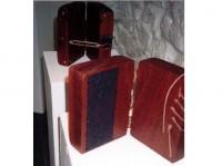 Dagbók saumakonu 1999, 25x12x15 Handbók 1999, 25x12x17 Tré